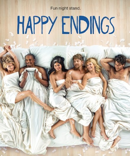 HAPPY ENDINGS episodes' names are based on famous movie titles. https://t.co/c0QG8NCwx7