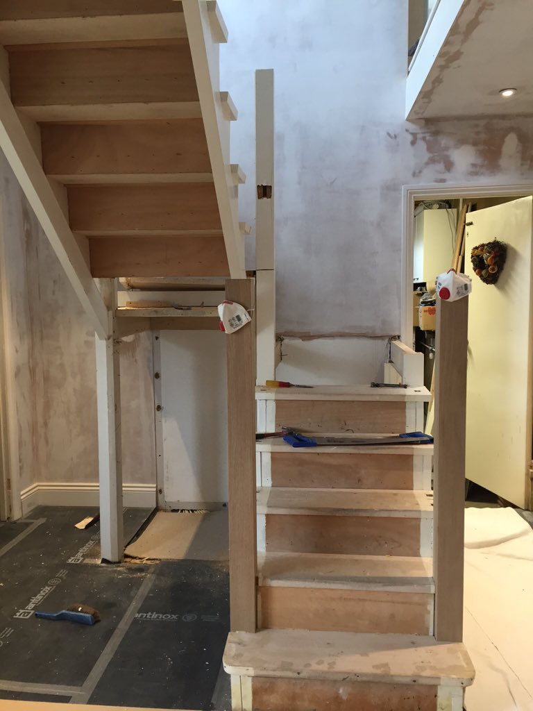 New Stair Restoration And Renewal Of Parts #Essex #joinery  #carpentrypic.twitter.com/Jl61UXfj2K