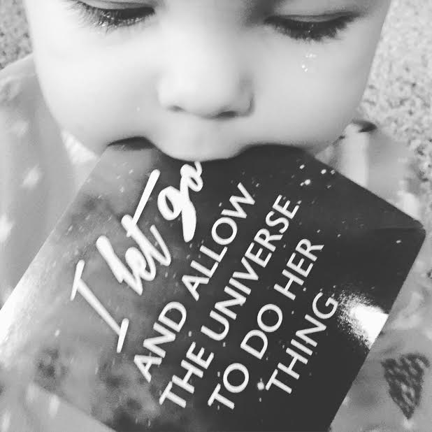 She can not get enough of these &  she always seem to pick the one mama needs to hear @GabbyBernstein  #spiritjunkie https://t.co/C0K1QsYo87