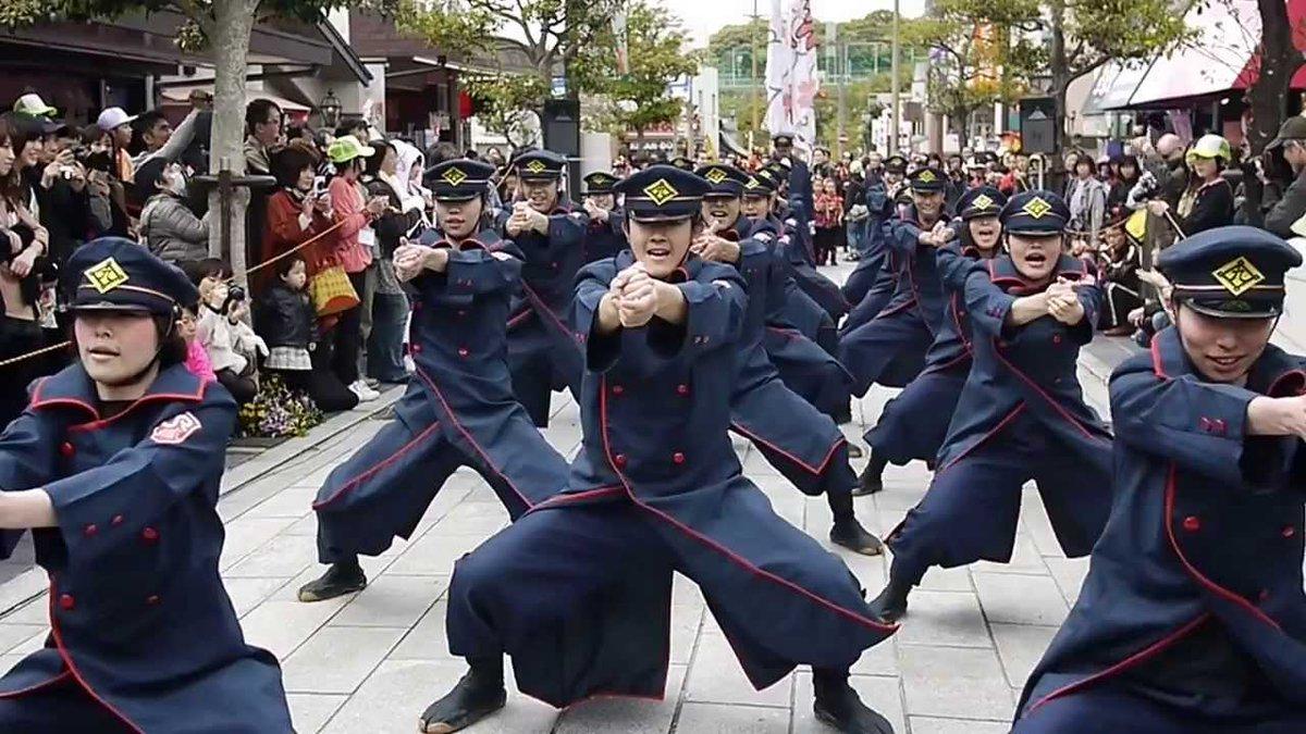 「JR九州 櫻燕隊」や「大宰府まほろば衆」と福岡のよさこいはなんでこんなグラフィックスペック最強なんだよ・・・