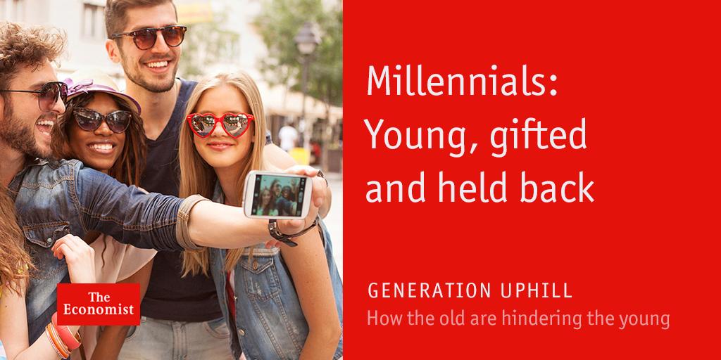 Image result for the economist millennials