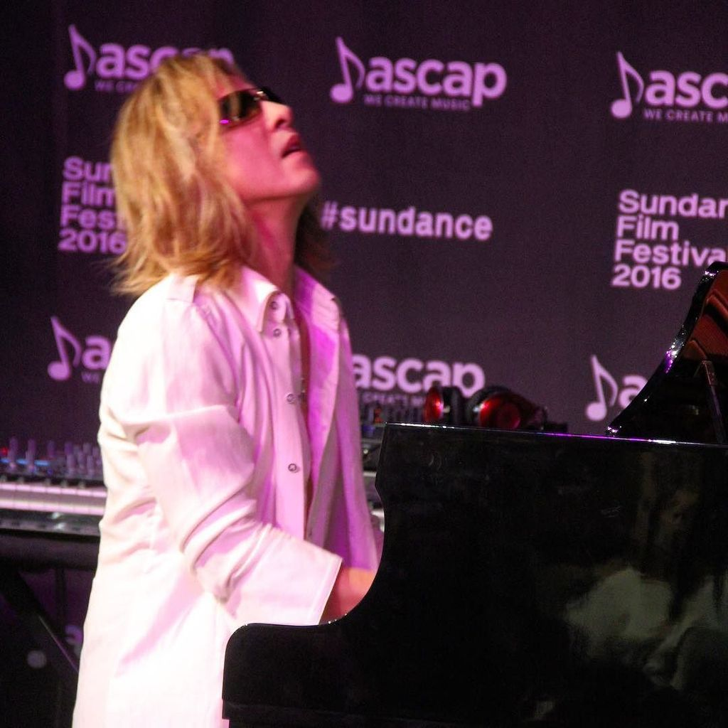 Bravo to @yoshikiofficial of #XJapan and #WeAreX for a great performance at the #sundance #ascapmusiccafe https://t.co/6cZVstxq2g