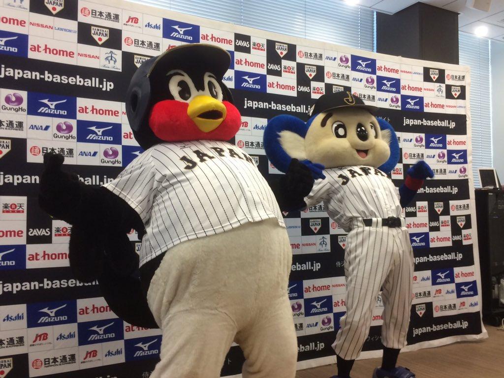 速報!ドアラが #侍ジャパン 入り!!ナゴヤドームで行われる強化試合に向けて、つば九郎と共に琴奨菊にあやかり菊バウアーで気合を入れます。#dragons pic.twitter.com/7EXyiALC3w