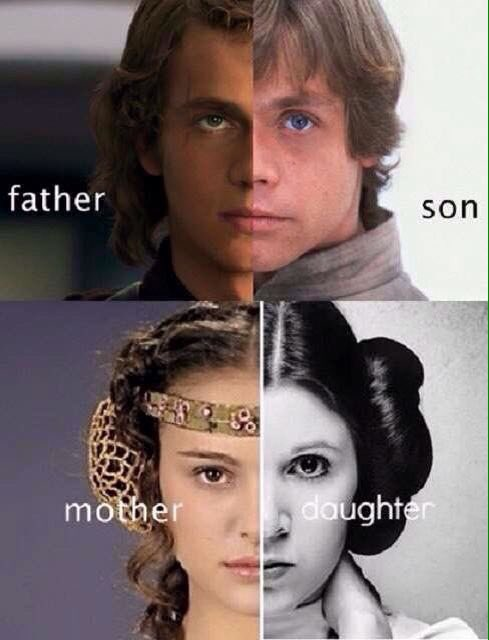 Star wars on twitter perfect actors to play the family for Arbol genealogico star wars