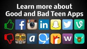 Good and Bad Teen Apps Parent Guide https://t.co/86Vvb6K8vb https://t.co/DEt5w3AKZB