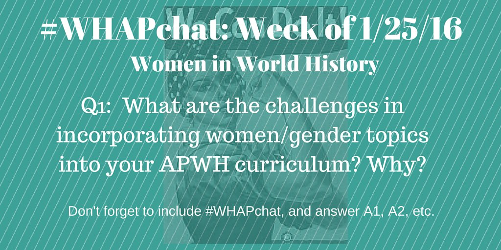 Thumbnail for #WHAPchat: Women in World History