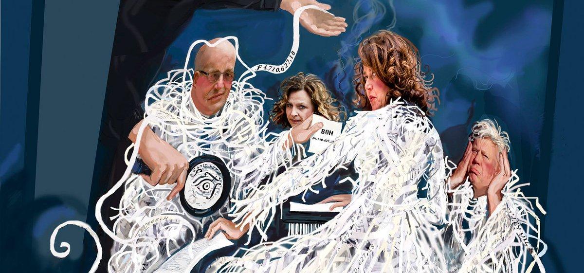 Journalist van het Jaar @BasHaan over bluffen, liegen en vals spelen in politiek Den Haag. https://t.co/xHhVkjE7QU https://t.co/mMmEveEVti