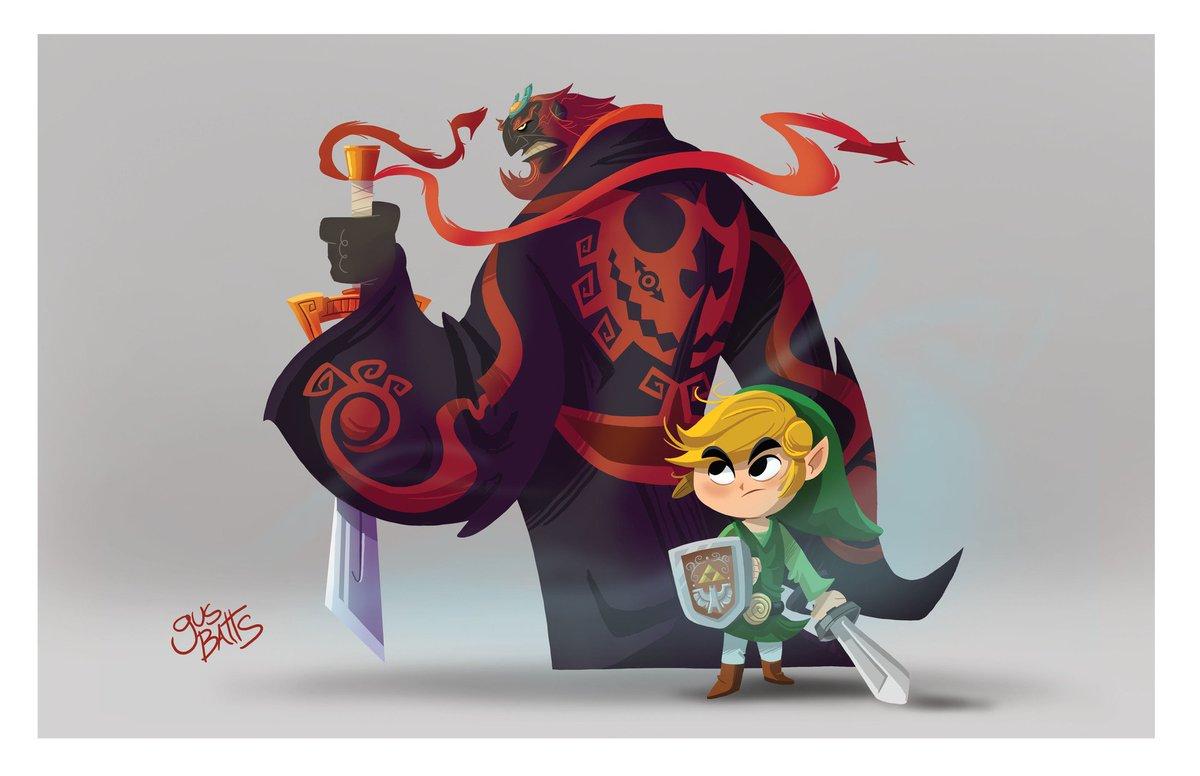 Ulkhror On Twitter Excellent Zelda Windwaker Fanart By