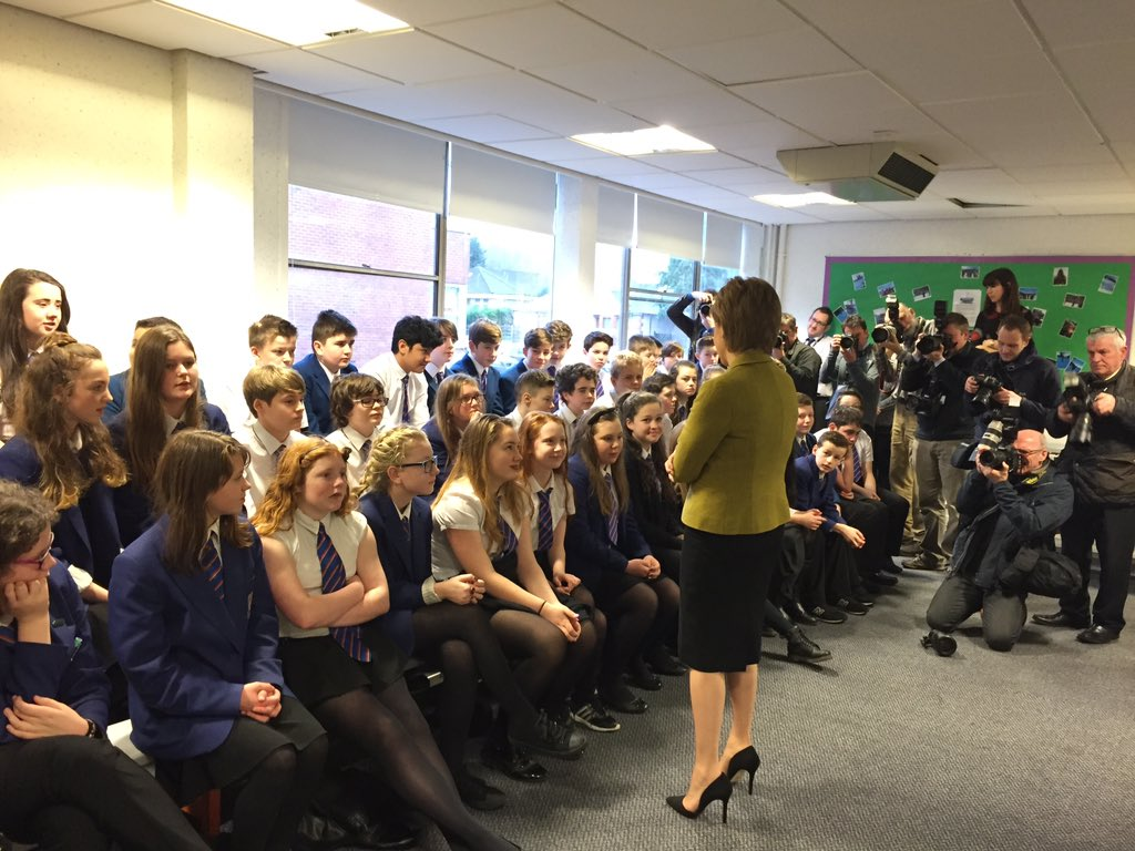 Cheers from pupils at news of #newschools https://t.co/iQek9QfMRf