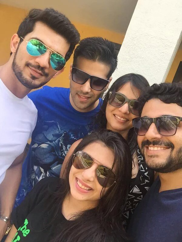 Arjun Bijlani and other friends in Goa for Sanaya and Mohit wedding - Image/Picture