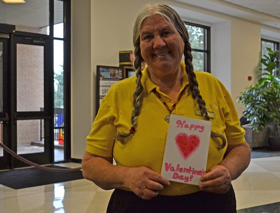 #TXST 's Susie from Jones loved throughout #SMTX for her bright smile and giving spirit https://t.co/hH49SWGGn3 https://t.co/O8e5vTuFhJ