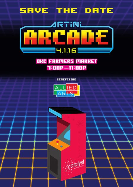 SAVE THE DATE! ARTini ARCADE 4.1.16 7-11p OKC Farmers Mkt. Share w/everyone...You don't want to miss out! #ARTiniOKC https://t.co/UnbC1ZM8GZ
