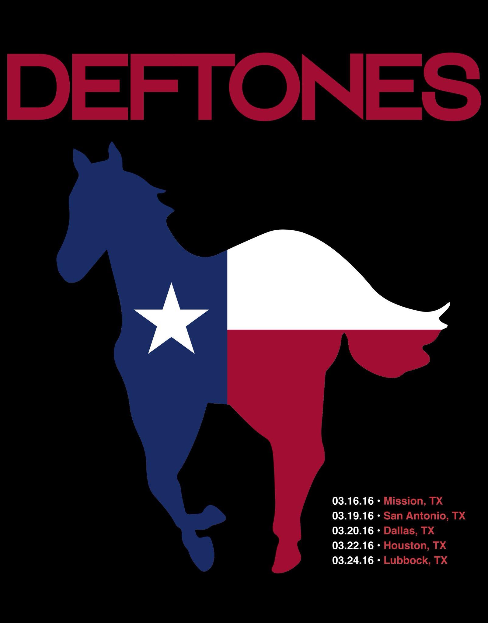 Shirt design mission tx - Deftones On Twitter Deftones Return To Texas In March Tix On Sale Fri Go To Https T Co Hsewpmbotq For Info Https T Co 0egsvvkjci