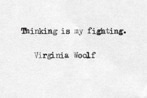 Somos mejores mujeres gracias a Virginia Woolf https://t.co/zqNAJKsTci