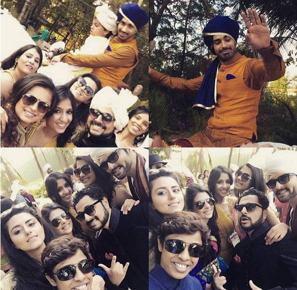 Mohit Sehgal Baaratis - Sanaya-Mohit wedding pictures/images