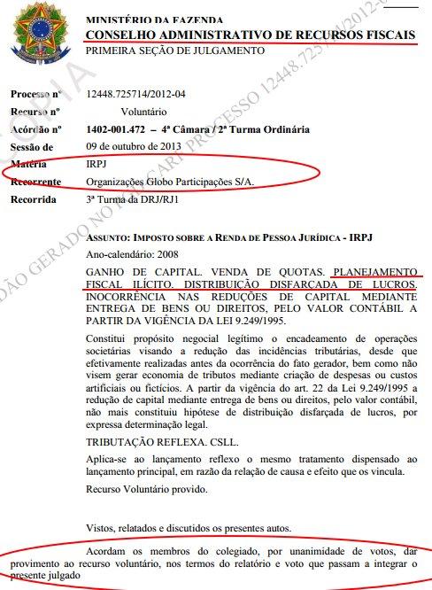 PF desbarata fraude de R$19bi em impostos no órgão que anulou cobrança da Globo. https://t.co/7eUlbwnPrU  https://t.co/mHkMxDbSoE