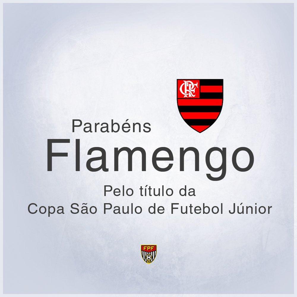 Parabéns, @Flamengo!