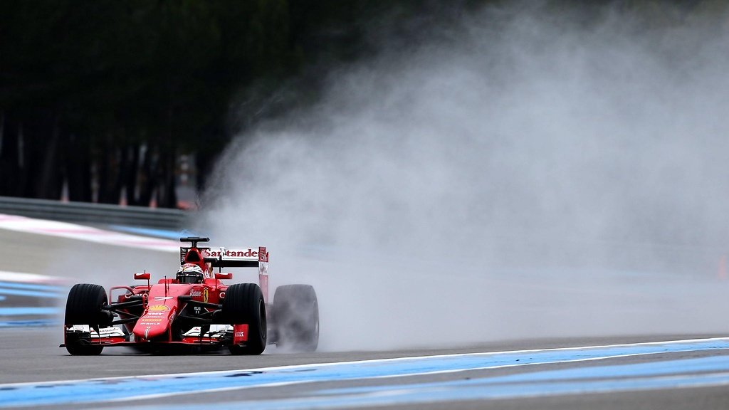 Raikkonen sees benefits of wet tyre test outing
