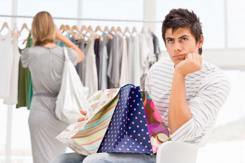Как, картинка мужчина и женщина шоппинг смешные