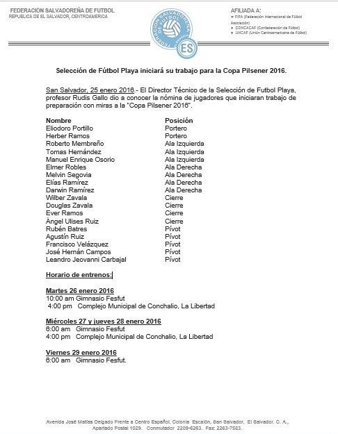 La Seleccion en preparacion a Copa Pilsener 2016. CZl8Y1GVIAAD7_k