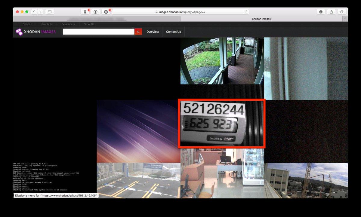 Token webcam