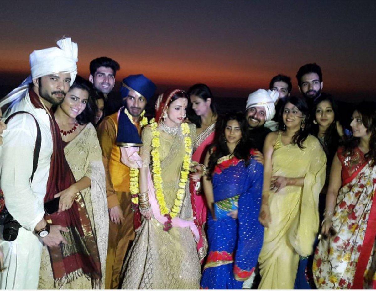Sanaya Irani-Mohit Sehgal marriage  image/picture/photo