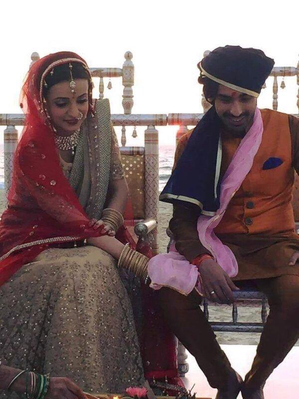 Sanaya Irani-Mohit Sehgal wedding picture/image/photo