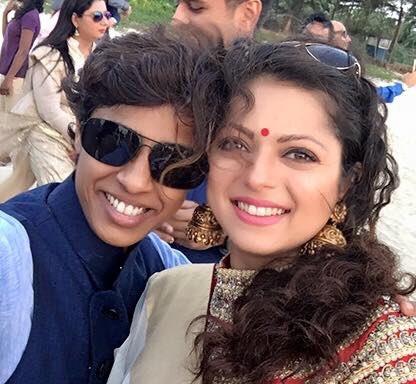Drashti Dhami at Sanaya Irani's wedding picture/image