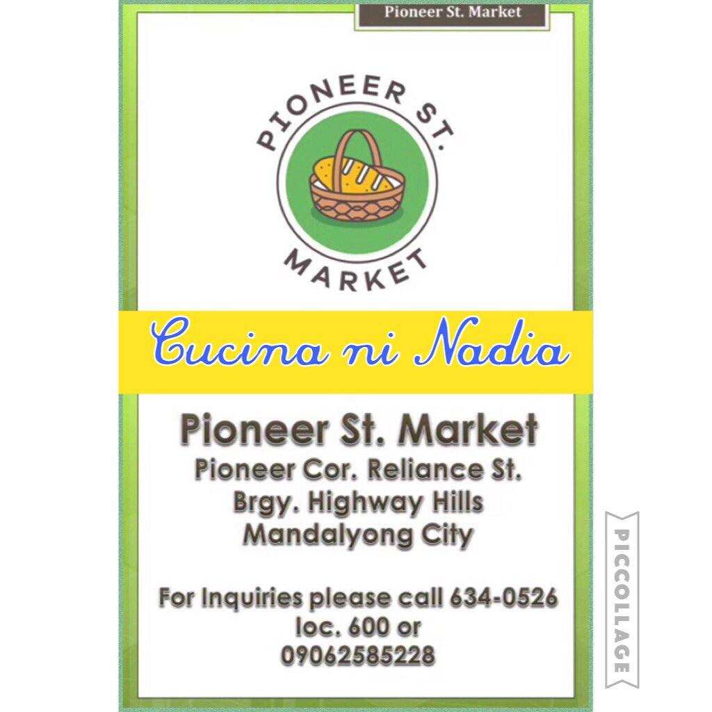 Nadia Montenegro On Twitter Cucina Ni Nadia Now Open At Pioneer