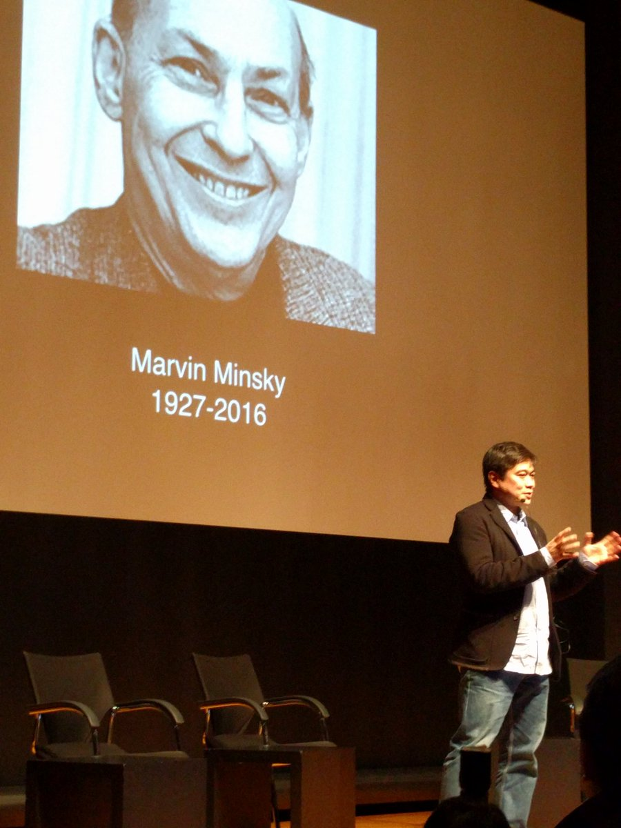 Father of Artificial Intelligence, Marvin Minsky, has passed.  A moment of silence here in Japan. #MLTokyo @Joi https://t.co/FRNDzu02My