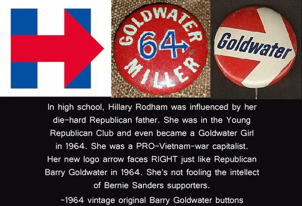 Hillary Clinton Goldwater Girl