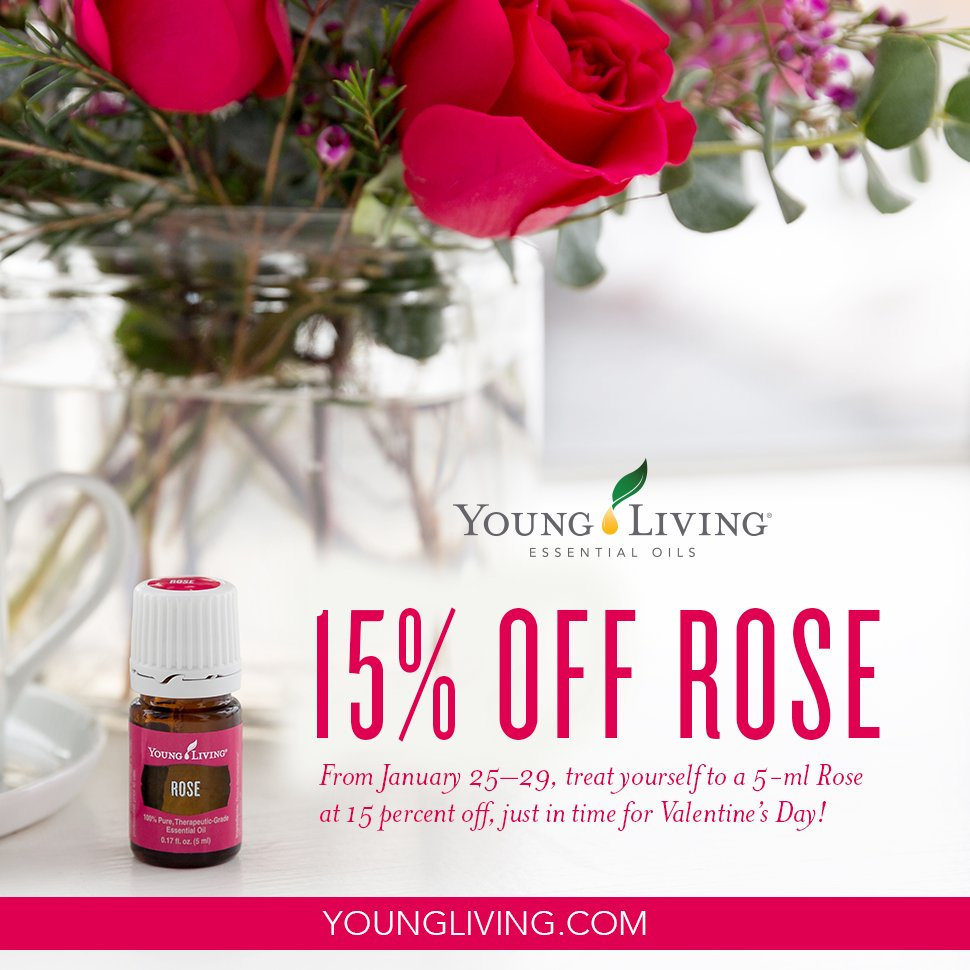 Young Living Essential Oils On Twitter Who Loves Rose Essential