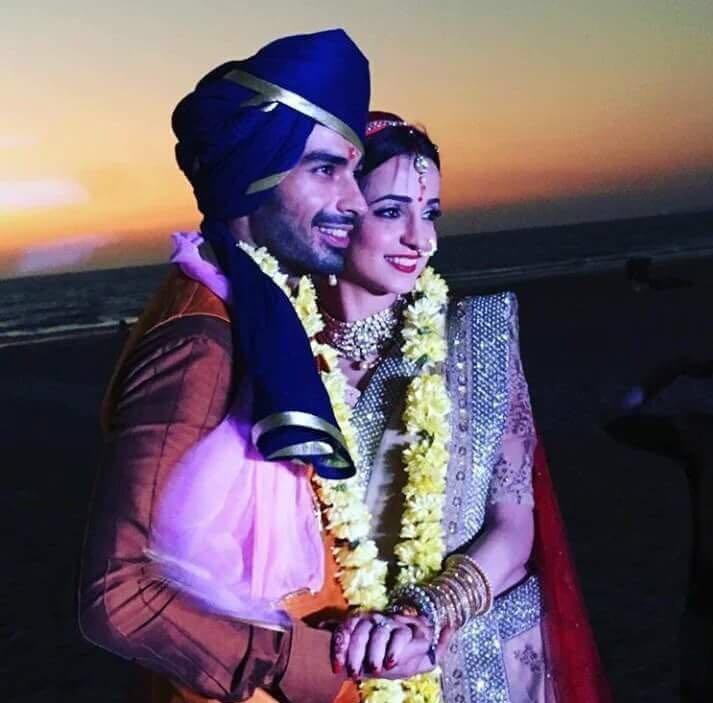 Sanaya Irani-Mohit Sehgal wedding picture/photo in Goa