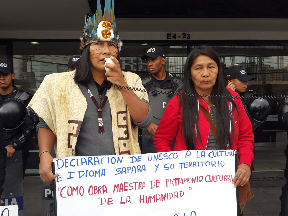 Denounce Ecuador & China's Oil Deal 4 Indigenous Territory in the Amazon! Stand w/the Sápara https://t.co/FZCiA2zmfg https://t.co/bPeGOLfnBQ