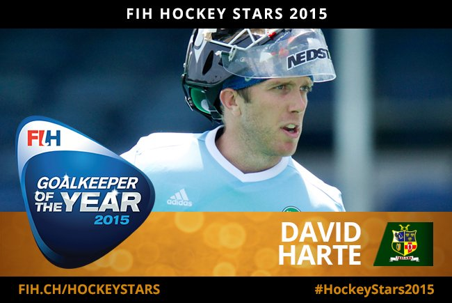 Huge congratulations to @IreMenHockey captain @daveyharte, named @FIH_Hockey GK of the Year! https://t.co/68LOlOsXu0 https://t.co/10jWuz2CHl