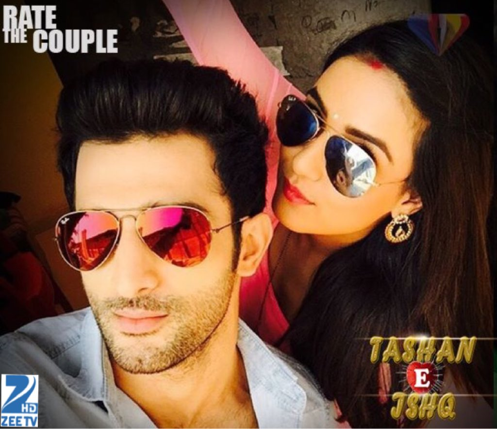 Twinkle Kunj aka Jasmin Bhasin and Sidhant Gupta off screen picture