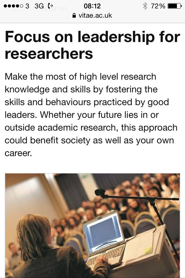 Thumbnail for Developing the next generation of research leaders