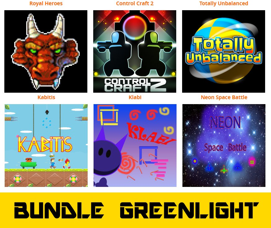 Please share and support #Greenlight #BUNDLE 2 is Here! for $ 1.49 http://www.otakumaker.com/ #indie #steam #game #Deal