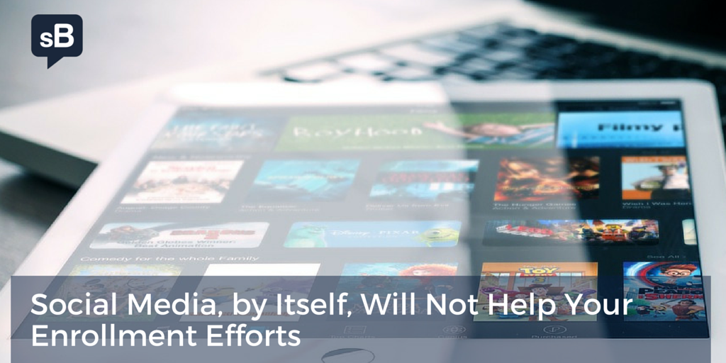 Social Media, by Itself, Will Not Help Your Enrollment Efforts https://t.co/HNtlGeLB3c #ismarketing https://t.co/jAFO6UT9Cu