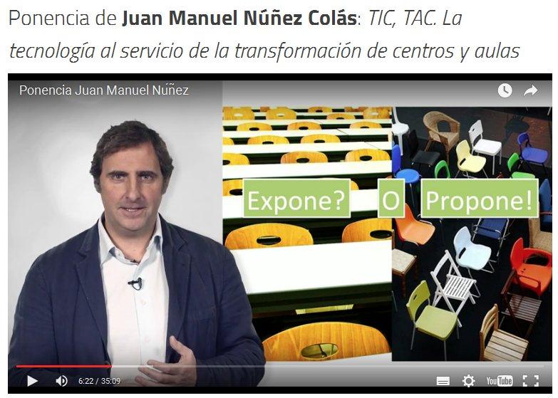 Thumbnail for Debate #ScolarTICchat34 sobre las TIC y las TAC en las aulas.