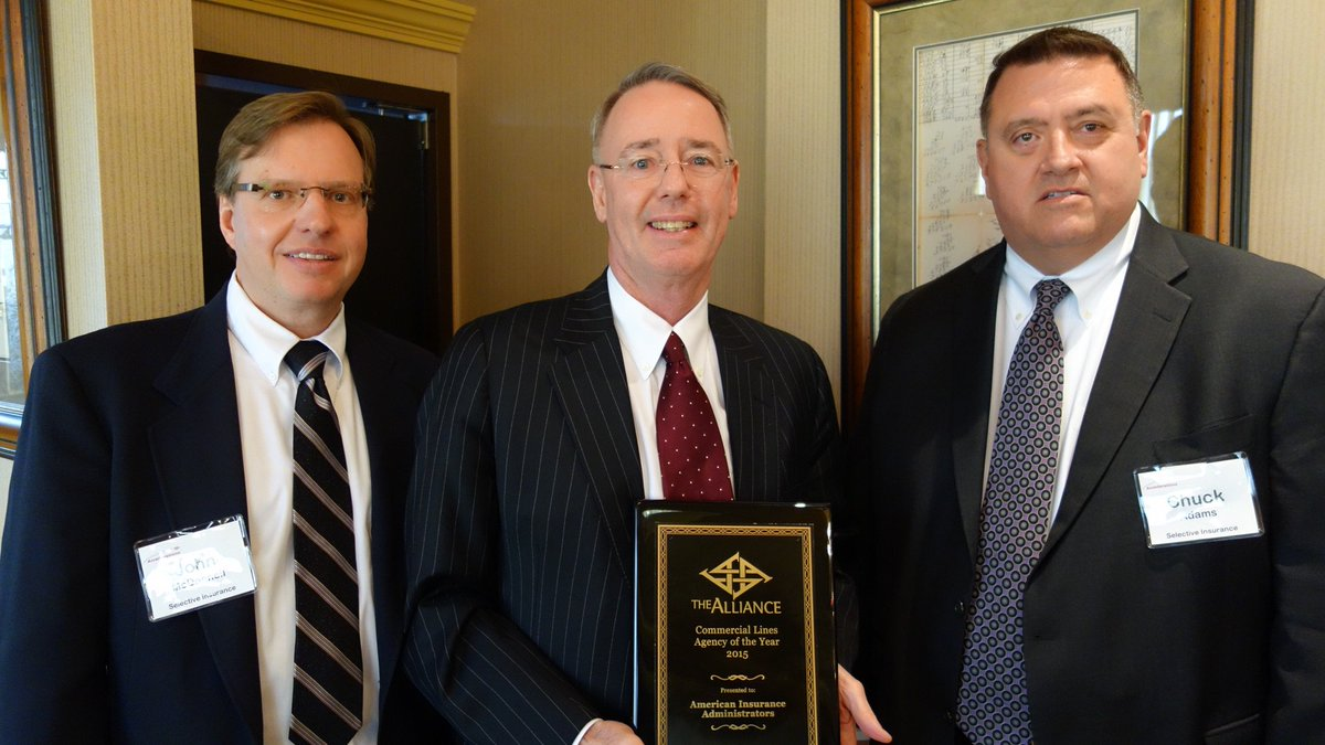Insurance Alliance On Twitter Don Wert Accepted The Accellerations Commercial Agency Of The Year Award For American Insurance Administrators Https T Co 0uasevkhxz