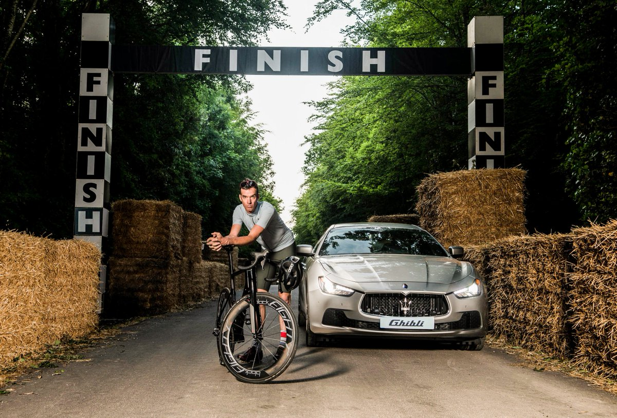 Ride with @millarmind & @MaseratiGB for #vitalresearch on the 1st @rouleurclassic Pro Ride https://t.co/cTEfRxSgGP https://t.co/3PqvNOnEPf