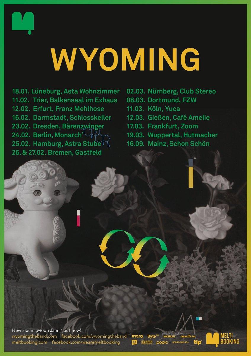 "Asta Wohnzimmer Lüneburg, melt! booking on twitter: ""\ upcoming \ @wyomingtheband ab 12, Design ideen"