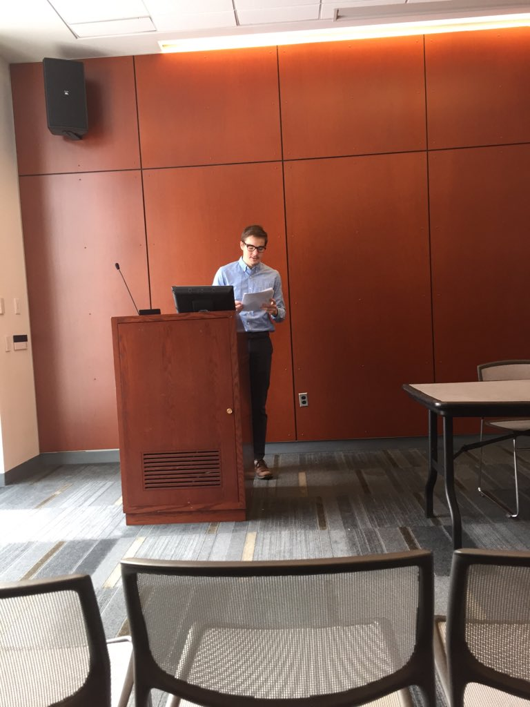 """Kyle Steltzer junior @Fordham_FCRH on the """"Tibyan"""" and interfaith relations in Iberia @FordhamHistory https://t.co/ZDOlDennUe"""