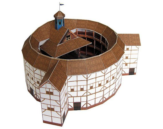 Globe Theatre architecture crafts shakeaspeare globe theatre william