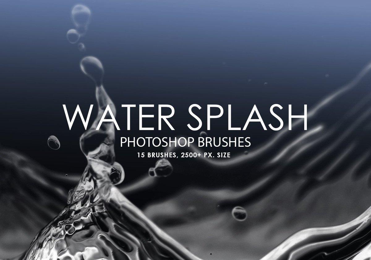 Free Water Splash #Photoshop Brushes https://t.co/RIGS0WICFY https://t.co/4wdYxWFN6P