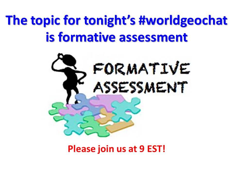 Thumbnail for #worldgeochat - Formative Assessment