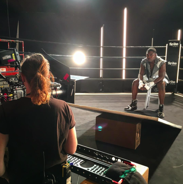 Making magic yesterday with @SpikeSports ….. #PBConSpike https://t.co/JSSQ68G39u