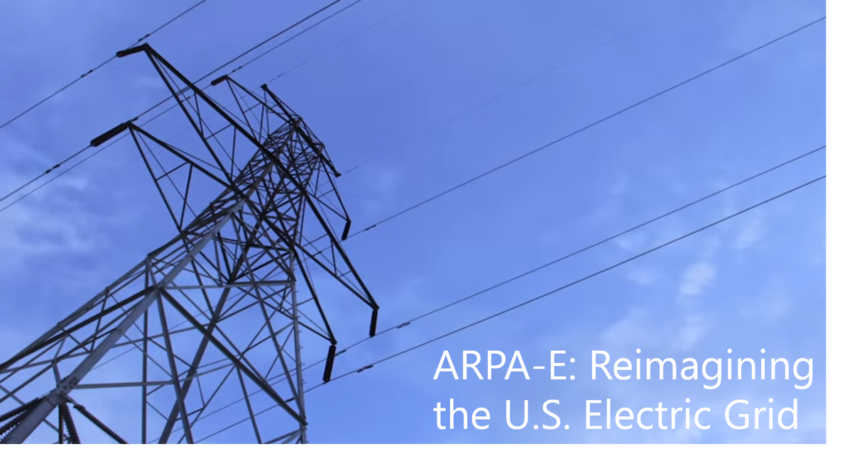 Learn how @ARPAE is reimagining the US electric #grid: https://t.co/Ad9D8bgsUq #SmartGrid #GridMod https://t.co/WSWQVIn9Tr