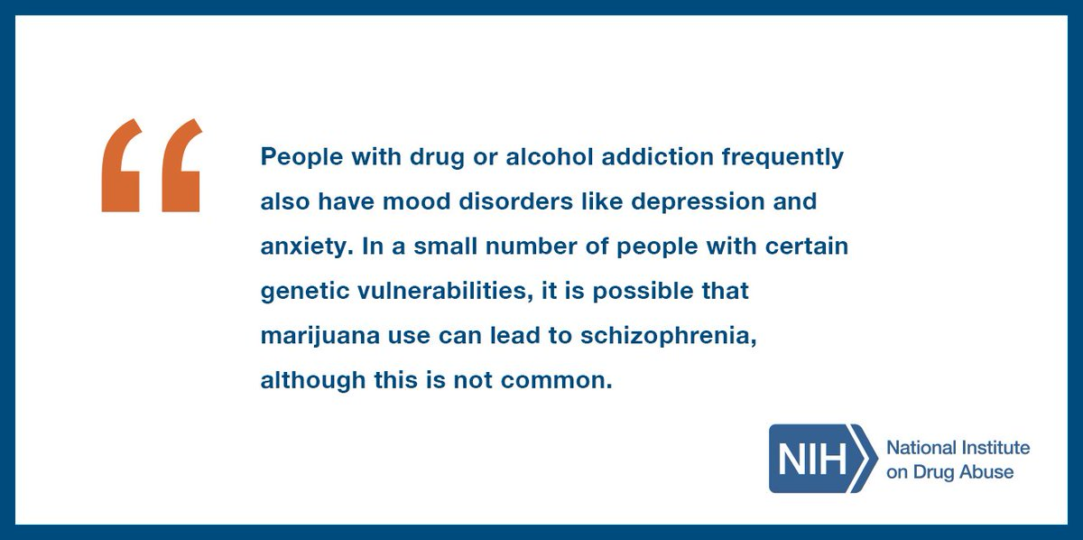Teens ask our scientists: what types of mental disorders coexist with drug addiction? https://t.co/jz4cRKrbaM #NDAFW
